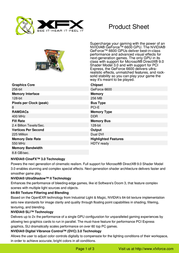 XFX PV-T43P-UD PV-T43PUDH7 User Manual