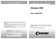 Friwo USB charger Mains socket 1894059 USB 1 x 900 mA 1894059 Data Sheet
