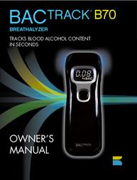 BACtrack b70 User Manual