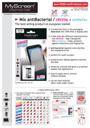 MyScreen Mix antiBacterial 5907996001743 产品宣传页