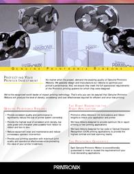Printronix Lint nylon P9212 OCR (6) 107675-008 User Manual