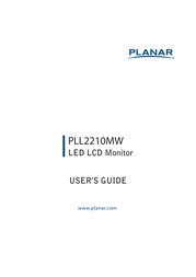 Planar PLL2210MW User Manual
