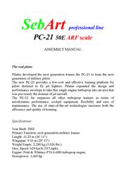 Sebart ARF 1510 mm 65100001 Data Sheet