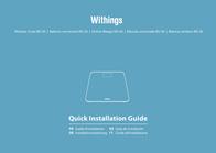 Withings WS-30 70009501 User Manual
