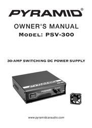 Pyramid Car Audio PSV-300 User Manual
