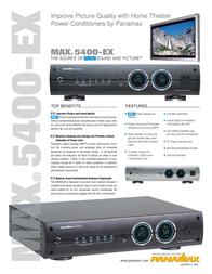 Panamax BEZ5400-EXS Leaflet