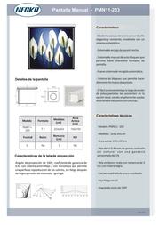 Dimasa PMN11-203 Leaflet