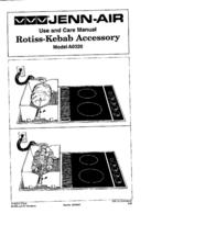 Jenn-Air A0320 User Manual