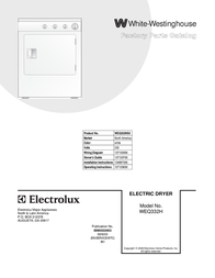 White Westinghouse WEQ332HS0 User Manual