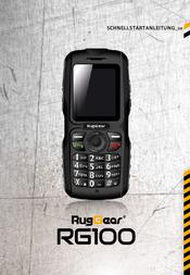 RugGear RG100 User Manual