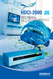 Humax HDCI-2000S HDTV Receiver HDCI-2000S User Manual