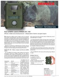 Minox DTC 100 60681 Leaflet