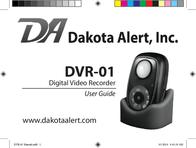 Dakota Alert Inc. Digital Camera DVR-01 Digital Video Recorder User Manual