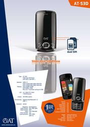 AT Telecom AT-S3D 933204 Leaflet