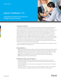 Sybase InfoMaker 11.5, CD, Win, ENG 61288-55-1150-41 Product Datasheet