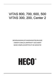 Heco Vitas 600, black VITAS600 Manual