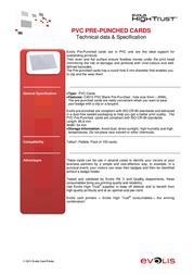 Evolis C4512 Leaflet