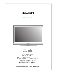 Bush A6 Instruction Manual