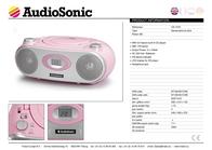 AudioSonic CD-1579 User Manual