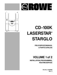 Rowe CD-100K User Manual
