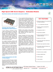 Quatech SSU2-100-EMB Leaflet
