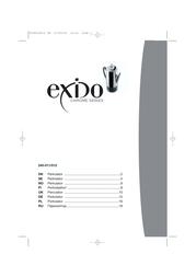 Exido Chrome Series 245-011/012 User Manual