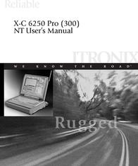 Cingular X-C 6250 Pro (300) User Manual