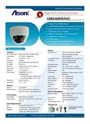Asoni CAM646MIR-POE Leaflet