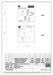 Weg MPE55G Structure Housing For MPW 25 MPE55G Data Sheet