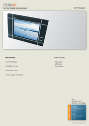 Technaxx Imago IMAGO Leaflet