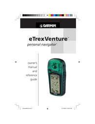 Garmin eTrex Venture User Manual