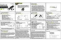 MiPow Power Tube 2600M SP2600M-NB Leaflet