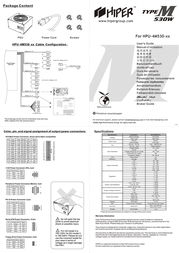 Hiper ATX v2.2 Active PFC Sli Ready 530W PS4M530 Leaflet