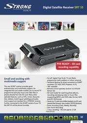 Strong SRT 55 STR55 Leaflet
