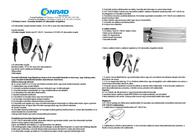 Profi Power Car battery tester 24 V, 12 V 2.913.900 2.913.900 Leaflet