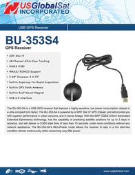 Globalsat BU-353-S4 Leaflet