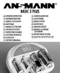 Ansmann Basic 5 Plus 5207303 User Manual