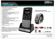 MaxCom MM715BB Leaflet