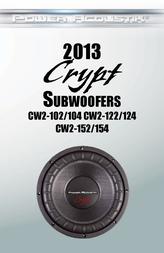 Power Acoustik CW2-154 CW154 User Manual