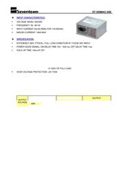 Seventeam ST-250MAC Leaflet