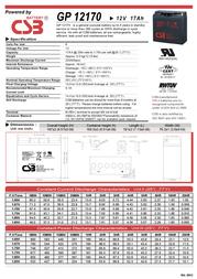 CSB GP12170 Leaflet