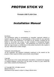 PROTON STICK V2 用户手册