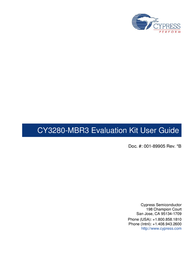 Cypress Semiconductor CY3280-MBR3 User Manual