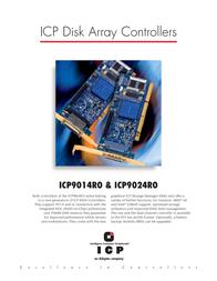 ICP ICP9014RO 2181700-R Leaflet