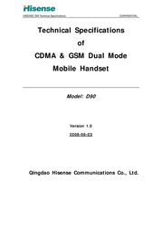 Hisense D90 User Manual
