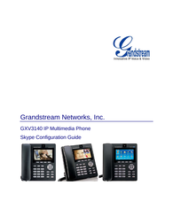 Grandstream Networks GXV3140 User Manual