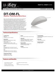 iKey DT-OM-FL Fascicule