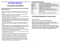 Pharos ez road User Guide