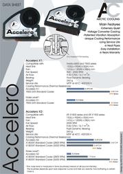 Arctic Cooling Accelero X1 ACNVSX1 Leaflet