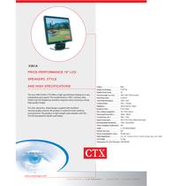 CTX X961A Leaflet